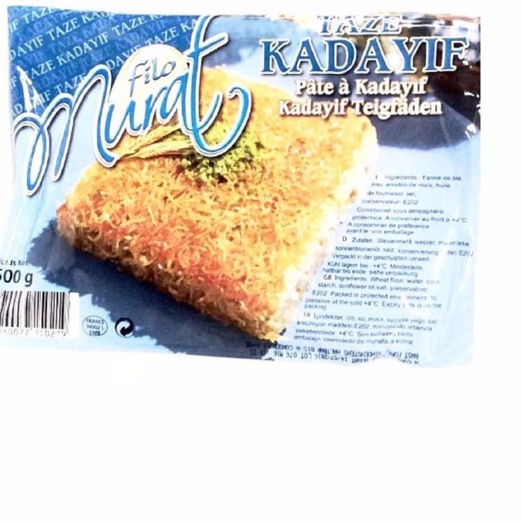 Épicerie farine, Riz, Semoule : Pâte à kadaif 500g